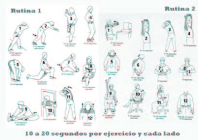 Ejercicios de estiramiento para la oficina bing images for Estiramientos oficina