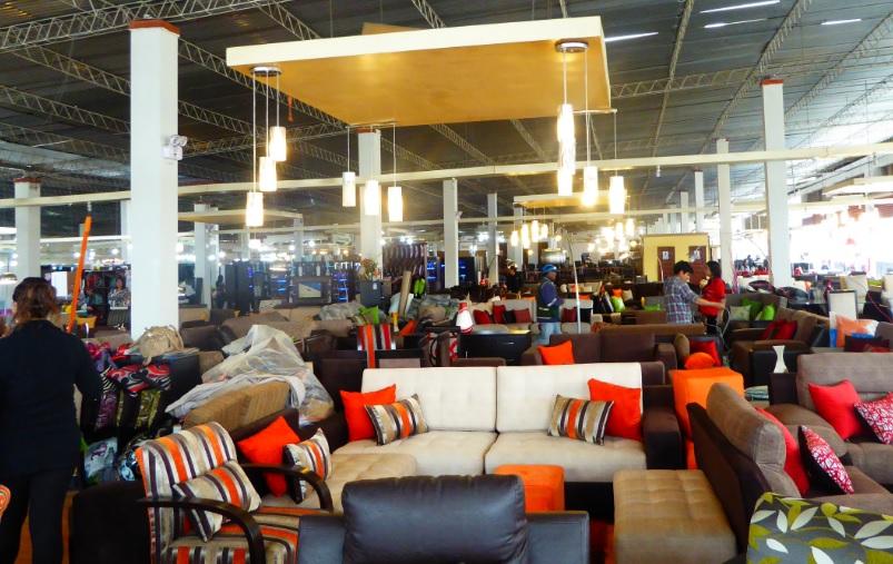 la venta de muebles en el parque industrial de villa el salvador fue