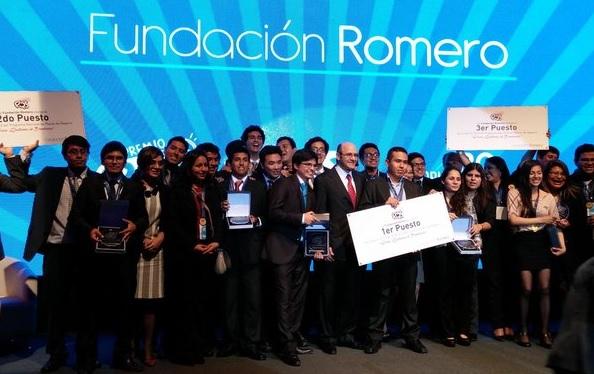 Ayer en la noche se llevó a cabo la premiación de la cuarta edición del  premio  Para Quitarse el Sombrero  de la Fundación Romero 57cf2297e21