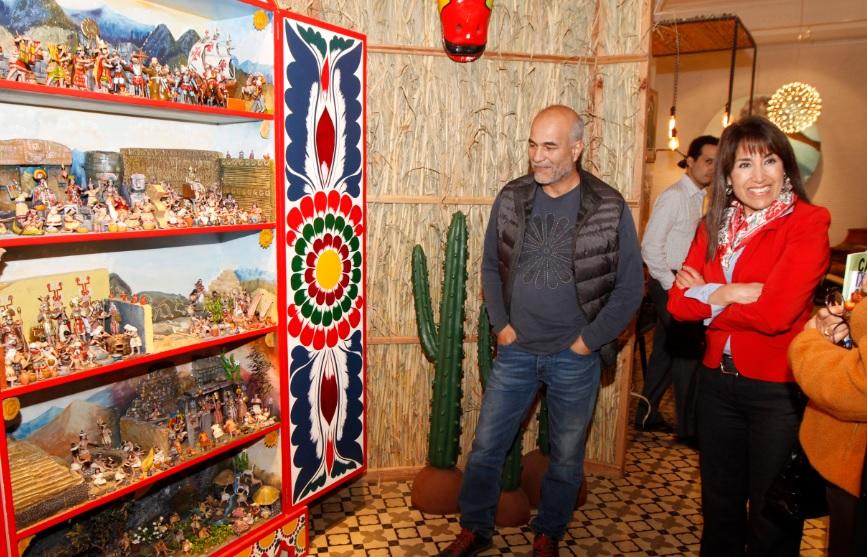 los asistentes a casacor pueden visitar la exposicin de las noventa piezas de artesana en la sala denominada ucel espacio de encuentroud