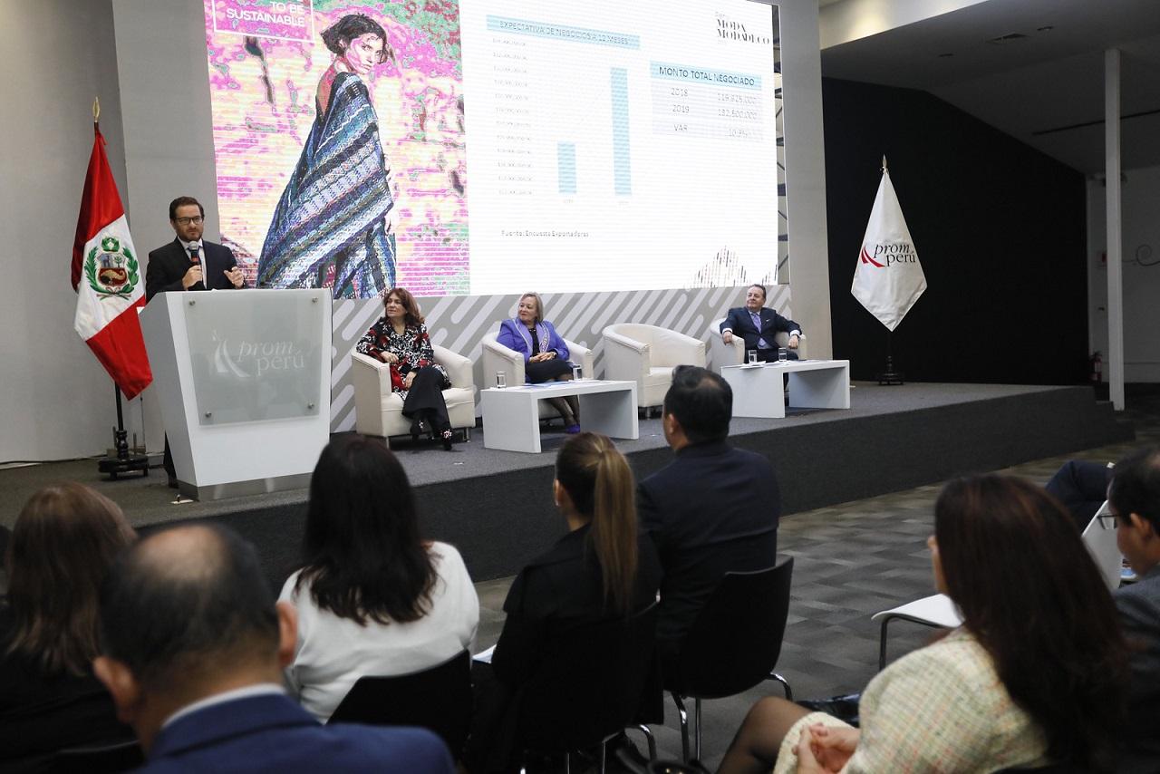 db41c6911629 Perú Moda y Perú Moda Deco 2019 concretan negocios por US$ 132 ...